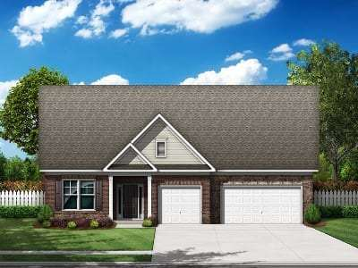 Timberlin Plan Built by Essex Homes