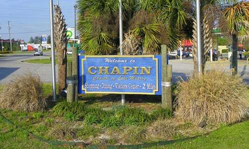 Town of Chapin Sign
