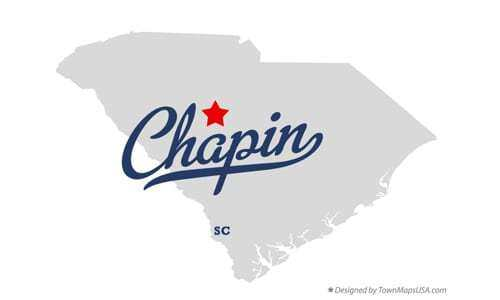 Map of Chapin SC